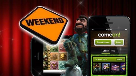 Ilmaisia pyöräytyksiä mobiililaitteilla ComeOn! casinolla