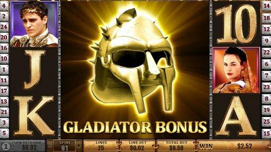 Gladiator – videoslotin 2,3 miljoonan euron voitto päätyi Iso-Britanniaan