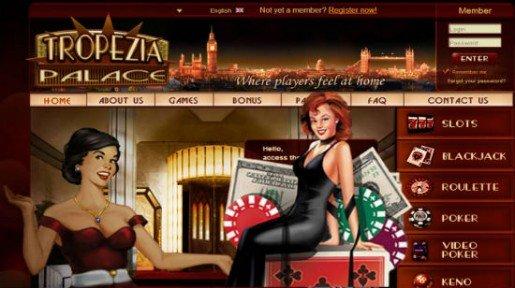 Tropezia Palace Casinolla erikoistarjous kaikille naisille