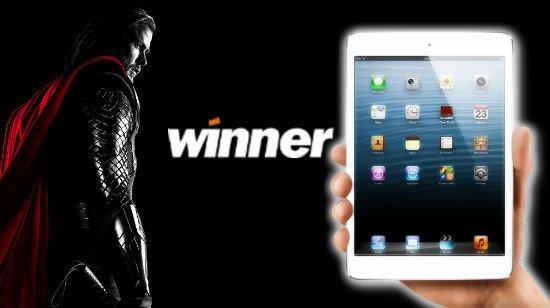 Winner casino antaa rahat takaisin viikonloppuna ja arpoo iPadin
