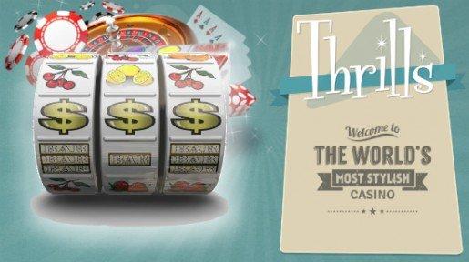 Klassikkopelit on nostettu esiin Thrills casinolla
