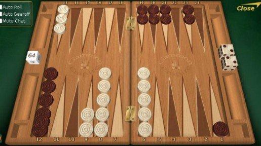 Miten Backgammonia pelataan?