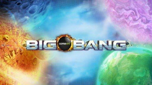 Big Bang – videoslotin mobiiliversio pelattavissa ComeOn! casinolla