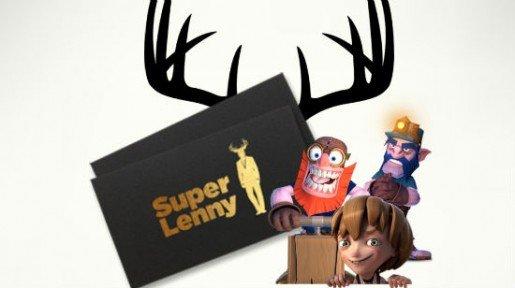 Rohkeasti erilainen SuperLenny antaa sinulle jopa 300 euroa pelirahaa!