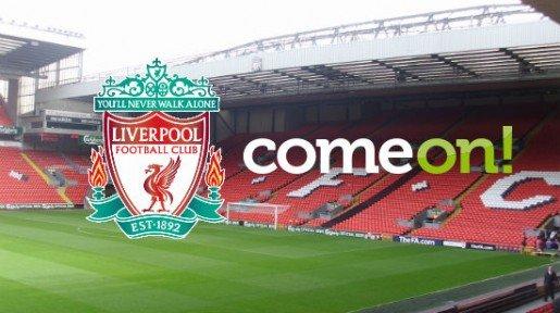 ComeOn! ja Liverpool FC aloittavat yhteistyön