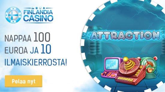 Mahtavat videoslotit ja bonukset odottavat sinua Finlandia Casinolla