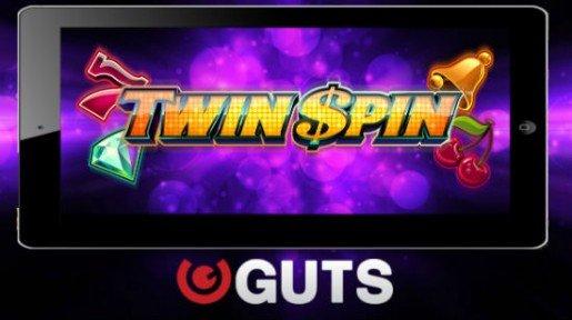 10 ilmaiskierrosta tarjolla Twin Spin -peliin Guts-kasinolla – ilman talletusta!