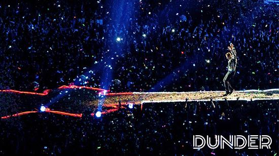 Voita liput Coldplayn keikalle Lontooseen Dunderilta
