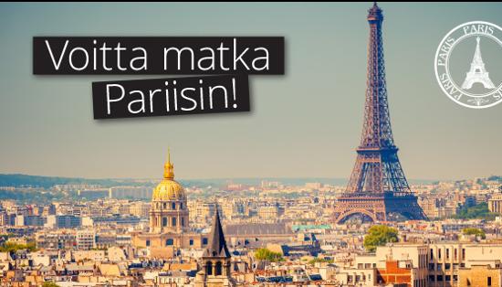 Voita Pariisin-matka tai 100 free spiniä Chanzilla
