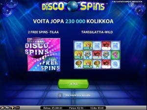 Disco Spins videokolikkopeli