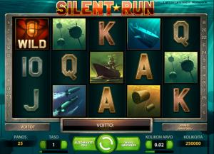 Silent Run videokolikkopeli