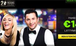 888 casino myöntää 140 € tervetuliaisbonuksen