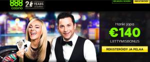 888 Casino banneri
