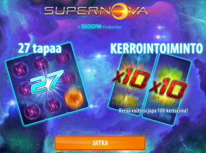 supernova kolikkopeli vera&john casinolla