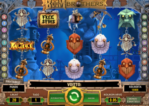 Boom Brothers -kolikkopeli Mr Green Casinolla