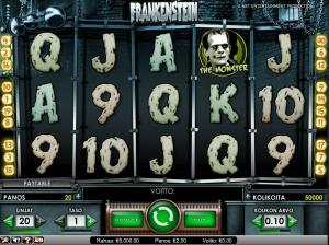 Frankenstein kolikkopeli Casumo Casinolla