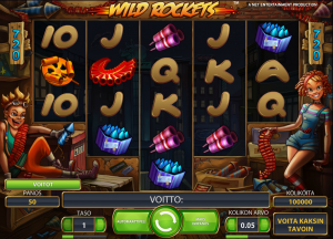 Wild rockets -peli Leo Vegas Casinolla